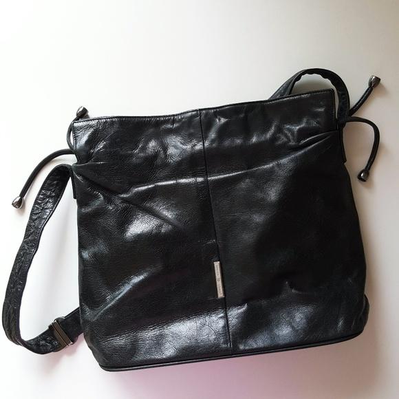ecf7644c080c Wanlima Bags | Black Real Leather Shoulder Bag | Poshmark
